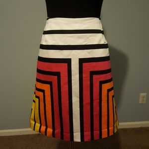 Color-Block Worthington Skirt